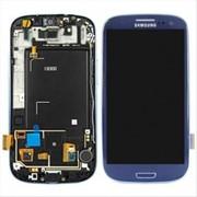 Сенсорная панель к телефону Samsung Galaxy SIII GT-I9300 (синий цвет)