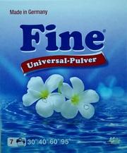 Безфосфатный стиральный порошок «Fine universal» (Германия). Не дорого