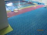 Модульное покрытие для бассейнов,  саун,  аквапарков