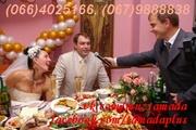 Тамада, живая музыка, дискотека на свадьбу, юбилей в Киеве!