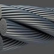 трос стальной в ПВХ (производство Беларуссия)
