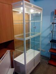 Шкаф-витрина торгово-выставочная стеклянная