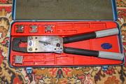 ручной механический пресс  для опрессовки гильз и кабельных наконечников
