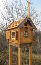 Голубятня,  мини. Маленькая голубятня. Дом для пары голубей.